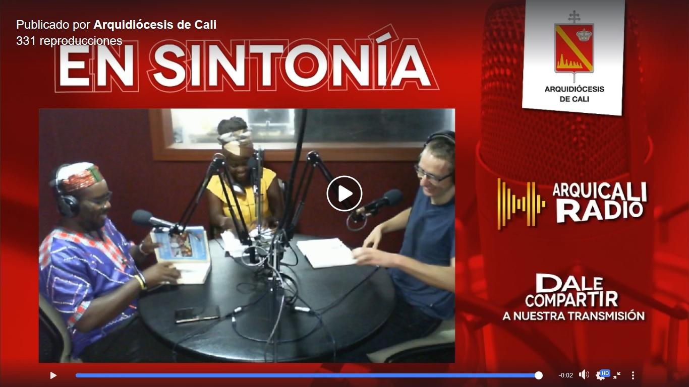 """Primer programa de """"Voces Afrocolombianas"""" en ArquiCali Radio"""