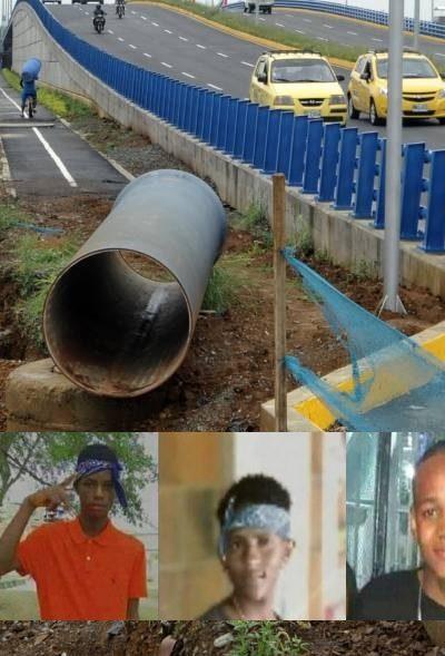 Los rostros de los jóvenes de la masacre de Llano Verde y el puente que excluye todo lo que no sea carro