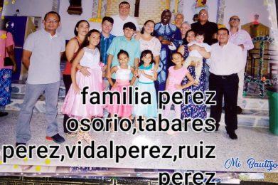 Familia Perez Osorio