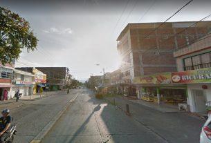 Panorámica del barrio Popular en la tarde caleña.