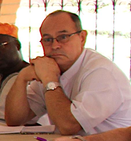 El p. Constantino Gutiérrez mxy en el Encuentro de Vida Religiosa post XIV EPA Cali 2018